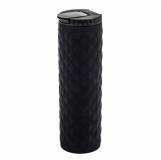 Kubek izotermiczny Tallin 450 ml, czarny z logo (R08321.02)