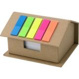 Zestaw do notatek domek, notatnik, karteczki samoprzylepne (V2776/A-00)