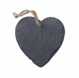 SLATEHEART Zawieszka świąteczna serce z logo (MO9359-03)