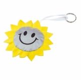 Maskotka odblaskowa Sun, srebrny/żółty z nadrukiem (R73837)