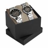 TWO FOR TIME Zestaw 2 zegarków z logo (MO7991-03)