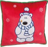 Świąteczna poduszka z logo (70328M4)