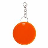 Brelok odblaskowy Reflect, pomarańczowy  (R73251P.15)