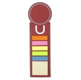 Karteczki samoprzylepne, zakładka do książki, linijka (V2542-05)