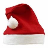Czapka świąteczna, czerwony/biały  (R89063)