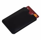 Etui na kartę zbliżeniową RFID Shield, czarny z logo (R50169.02)