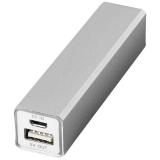 Aluminiowy akumulator powerbank Volt 2200mAh (12349202)