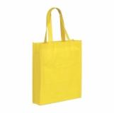 Torba eko na zakupy, żółty z logo (R08450.03)