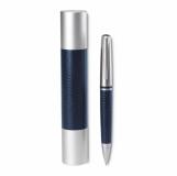 AVANT-GARDE Długopis, metal ze skórą z logo (IT2801-04)