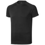 Elevate Męski T-shirt Niagara z krótkim rękawem z tkaniny Cool Fit odprowadzającej wilgoć (39010996)