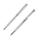 Zestaw piśmienny długopis i ołówek RENEE Pierre Cardin z logo (B0400900IP307)