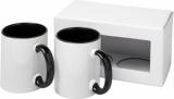 2-częściowy zestaw upominkowy Ceramic składający się z kubków z nadrukiem sublimacyjnym (10062601)