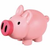 Skarbonka Piggy, różowy z nadrukiem (R73882)
