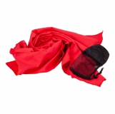Ręcznik sportowy Sparky, czerwony z logo (R07979.08)
