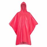 Peleryna przeciwdeszczowa dla dorosłych Rainfree, czerwony z logo (R74035.08)