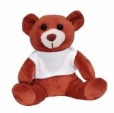Maskotka Funny Bear, brązowy z nadrukiem (R73855.10)