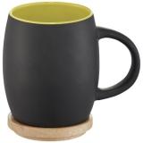 Avenue Ceramiczny kubek Hearth z drewnianym wiekiem/spodeczkiem (10046603)
