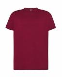 T-shirt Męski 150 BURGUNDY (TSRA 150 BU)