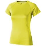 Elevate Damski T-shirt Niagara z krótkim rękawem z tkaniny Cool Fit odprowadzającej wilgoć (39011140)