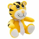 Maskotka Tiger, żółty z logo (R74031)