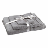 THERMA Kpl 3 ręczników z logo (MO7347-07)