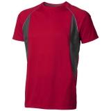 Elevate Męski T-shirt Quebec z krótkim rękawem z tkaniny Cool Fit odprowadzającej wilgoć (39015256)