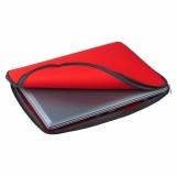 Etui na laptopa Vernazza, czerwony z nadrukiem (R91873.08)