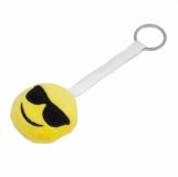Zawieszka z uśmiechem Happy Two, żółty z logo (R73833.03)