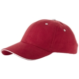 Elevate 6-panelowa czapka typu sandwich Brent (38656250)