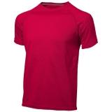 Slazenger Męski T-shirt Serve z krótkim rękawem z tkaniny Cool Fit odprowadzającej wilgoć (33019251)