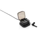 Bezprzewodowe słuchawki douszne TWS, ładowarka bezprzewodowa 5W (P329.121)