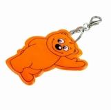 Brelok odblaskowy Beary, pomarańczowy  (R73245.15)