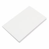 Notatnik 140x210/40k gładki Fundamental, biały z logo (R64212.06)