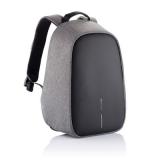 """Bobby Hero Small plecak na laptopa do 13,3"""" i tablet 12,9"""", chroniący przed kieszonkowcami, wykonany z RPET (V0996-19)"""