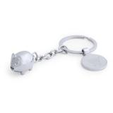 """Brelok do kluczy """"zwierzątko"""", żeton do wózka na zakupy (V9800-19)"""