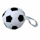 Maskotka Soccerball, biały/czarny z logo (R73891)