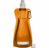 Składana butelka 420 ml z karabińczykiem (V6503-07)
