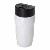 Kubek izotermiczny Edmonton 270 ml, biały z logo (R08389.06)