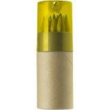 Zestaw kredek, temperówka (V6133/A-08)