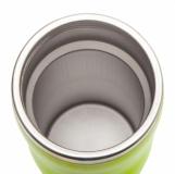 Kubek izotermiczny Skien 350 ml, zielony z logo (R08224.05)