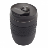 Kubek izotermiczny Offroader 200 ml, czarny z logo (R08317.02)