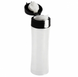 Kubek termiczny Secure 400 ml, biały z logo (R08424.06)