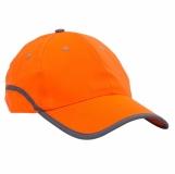 Czapka odblaskowa Be Active, pomarańczowy z logo (R08719.15)