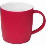 Kubek ceramiczny - gumowany z logo (8065405)