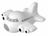 Antystres Wing, biały z logo (R73932)