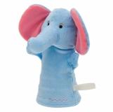 Pacynka Elephant, niebieski z nadrukiem (R73908)