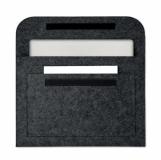 POUCHLO Etui na laptopa z filcu z logo (MO9818-15)