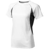 Elevate Damski T-shirt Quebec z krótkim rękawem z tkaniny Cool Fit odprowadzającej wilgoć (39016010)