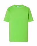 T-shirt dla dzieci 150 LIME (TSRK 150 LM)