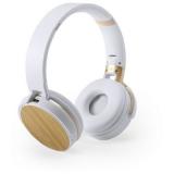 Bambusowe bezprzewodowe słuchawki nauszne (V0366-16)